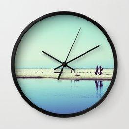 The Beach (California Dreaming III landscape) Wall Clock