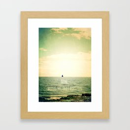 Now, bring me that horizon Framed Art Print