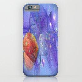 Fish world iPhone Case