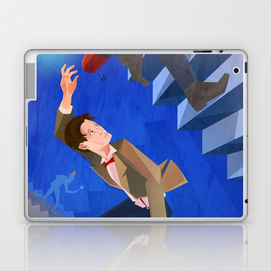 The Eleventh Who? Laptop & iPad Skin