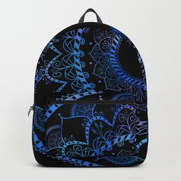 Got the Blues Mandala Backpack