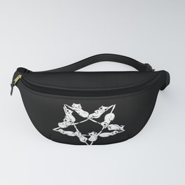 Where The Cats Go at Night Fanny Pack