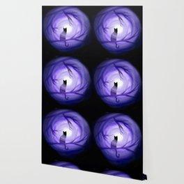 Thru Violet Mist Wallpaper