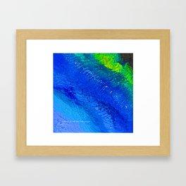 """""""Riptide #4"""" Oil Painting Framed Art Print"""
