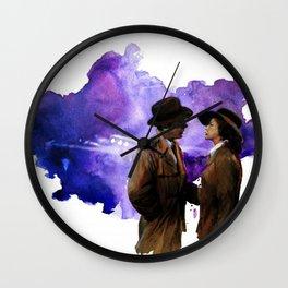 Casablanca film print - The End Wall Clock