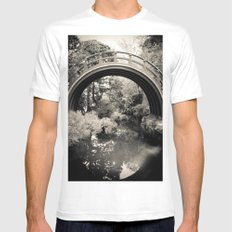 The Garden  MEDIUM Mens Fitted Tee White