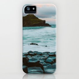 Giant's Causeway at Sunrise iPhone Case