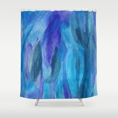 Adelaide Blues Shower Curtain