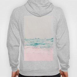 Vintage Pastel Ocean Waves Hoody
