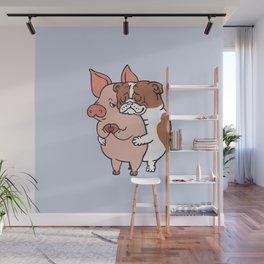 Friend Not Food English Bulldog Wall Mural
