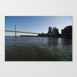 Bay Bridge Canvas Print