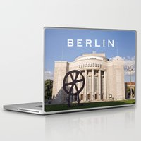 theatre Laptop & iPad Skins featuring BERLIN OST - VOLKSBÜHNE - Theatre by CAPTAINSILVA