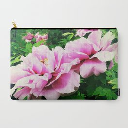 peony2 Carry-All Pouch
