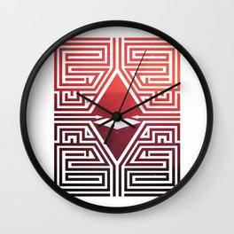 Asylum Wall Clock