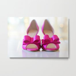 Pumps Metal Print