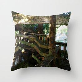 Tree house @ Aguadilla 5 Throw Pillow