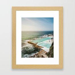 Bondi Icebergs Club | Bondi Beach Sydney Australia Ocean Coastal Travel Photography Framed Art Print