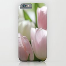 PINK AND WHITE TULIPS Slim Case iPhone 6s