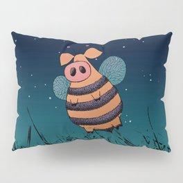 Bumblepig Pillow Sham