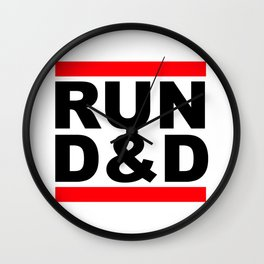 run D&D Wall Clock