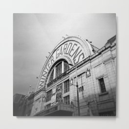 Winter Gardens Metal Print