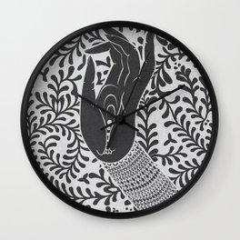 God's hand Wall Clock