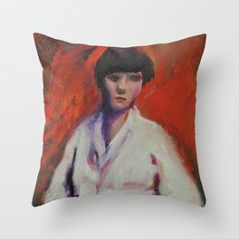 Second Impression Throw Pillow