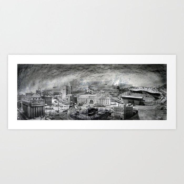 Skyline Art Print