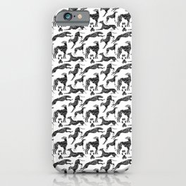Greyt Marble Greyhounds iPhone Case