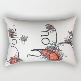 Come as you are Rectangular Pillow