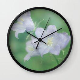 Bluebell Delight Wall Clock