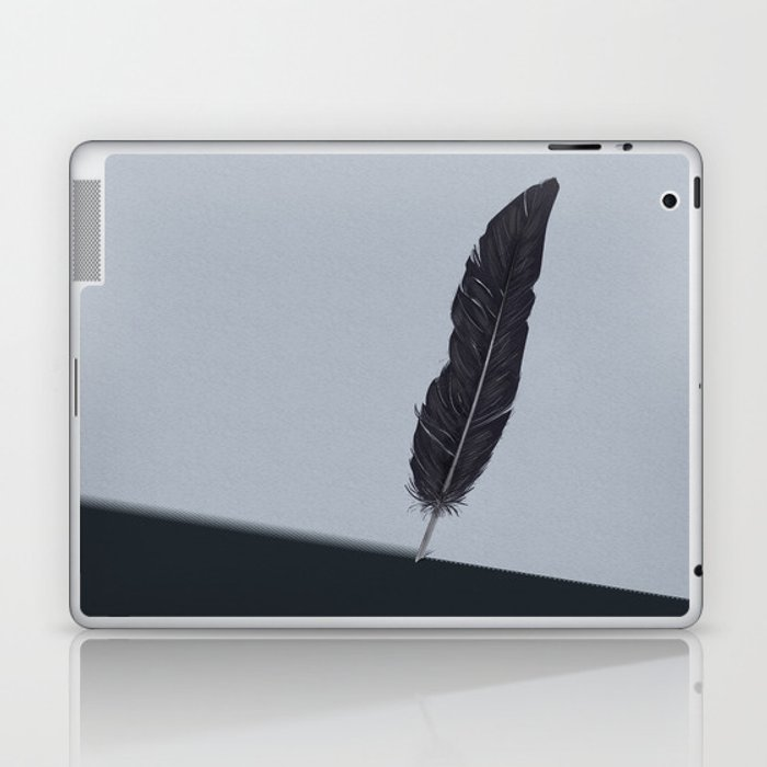 Feathered Edge. Laptop & iPad Skin