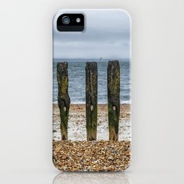 Southsea Seafront - Stumps! iPhone Case