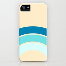 Teal Rainbow Glam  iPhone Case