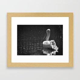 The White Swan Framed Art Print