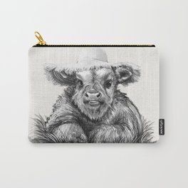 Baby Coo in Cream Carry-All Pouch