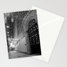 Christmas lights at Johnson's Court, Dublin Stationery Cards