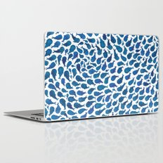 Blue Whales Laptop & iPad Skin
