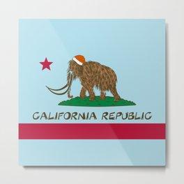 California Republic Mammoth Metal Print
