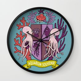 The Royal Aquarium Souvenir Shop Wall Clock