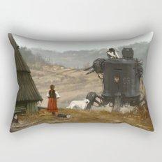 1920 - soup is waiting Rectangular Pillow