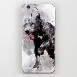 Playing Puppy Running iPhone Skin