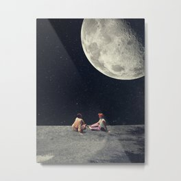 I Gave You the Moon for a Smile Metal Print