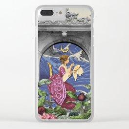THE HIGH PRIESTESS TAROT CARD Clear iPhone Case