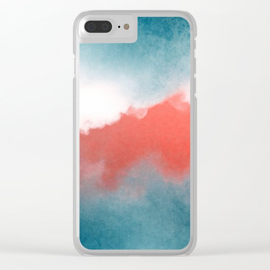 clouds III Clear iPhone Case