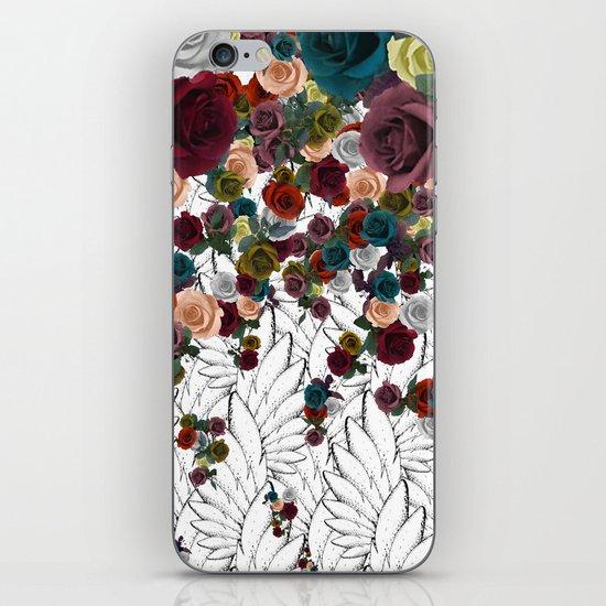 falling flowers iPhone & iPod Skin