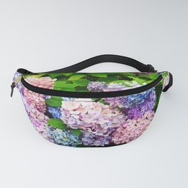 Rainbow of Flowers Fanny Pack