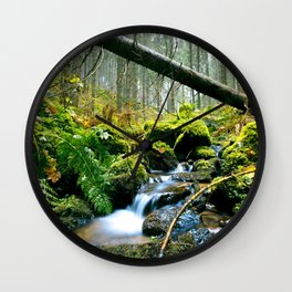 Forest me and you... Wall Clock