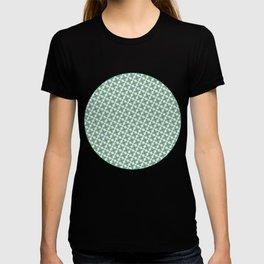 Mint Leaf Pattern T-shirt