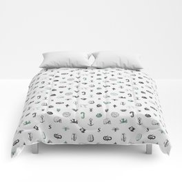 House of the Cunning - Pattern I Comforters